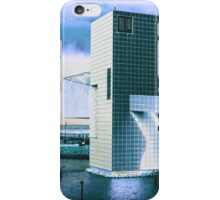 Rock And Roll Hall Of Fame - Electric Blue iPhone Case/Skin