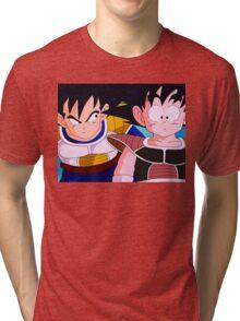 Saiyans Tri-blend T-Shirt