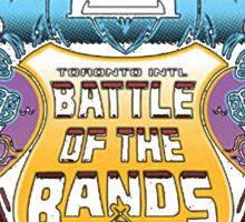 Scott Pilgrim - Battle of the Bands Sticker