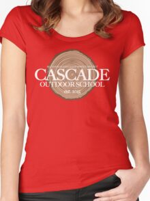 Cascade Outdoor School (fcw) Women's Fitted Scoop T-Shirt