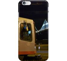 Streetcar at The Embarcadero iPhone Case/Skin