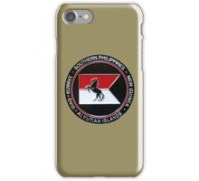 1-153rd Cavalry Regiment 2013 Deployment Emblem iPhone Case/Skin
