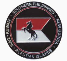 1-153rd Cavalry Regiment 2013 Deployment Emblem One Piece - Short Sleeve