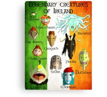 Legendary Creatures of Ireland Canvas Print