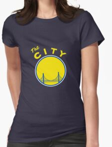 Golden State Warriors Retro Womens Fitted T-Shirt