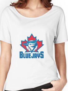 Toronto Blue Jays Logo Women's Relaxed Fit T-Shirt