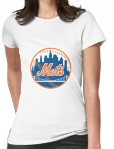 New York Mets Womens Fitted T-Shirt