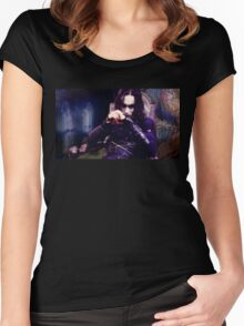 The Crow Women's Fitted Scoop T-Shirt
