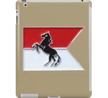 1-153rd Cavalry Regiment Colors Flag iPad Case/Skin