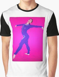 Purple Dancer Graphic T-Shirt