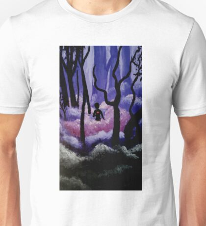 Alone in the woods Unisex T-Shirt