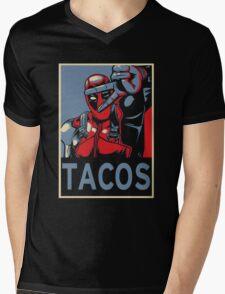 Tacos Mens V-Neck T-Shirt