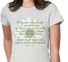 T. H. Huxley Quotation (fcg) Womens Fitted T-Shirt
