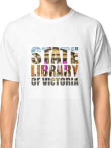 State Library of Victoria Silhouette Classic T-Shirt