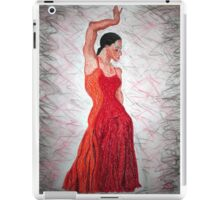 Flamenco Flame iPad Case/Skin