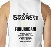 Fukurodani Champions Tank Top
