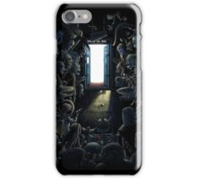 Waiting Doctor Who iPhone Case/Skin