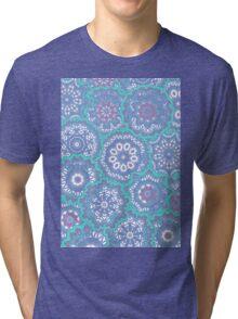 Pattern with mandalas Tri-blend T-Shirt