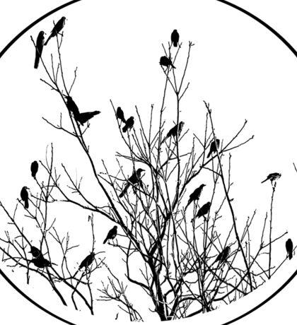Grackle Tree Sticker