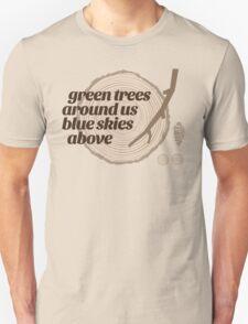 Green Trees Record (fcb) T-Shirt