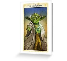 The Hierophant Greeting Card