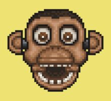 Five Nights at Candy's - Pixel art - Chester the Chimp Baby Tee