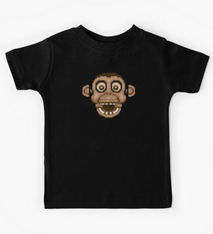 Five Nights at Candy's - Pixel art - Chester the Chimp Kids Tee