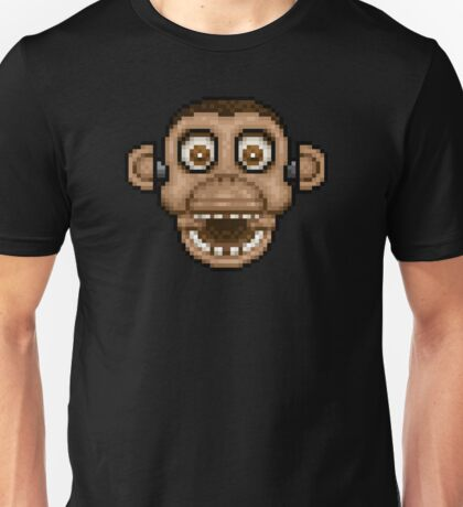 Five Nights at Candy's - Pixel art - Chester the Chimp Unisex T-Shirt