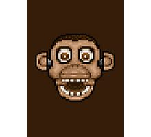 Five Nights at Candy's - Pixel art - Chester the Chimp Photographic Print