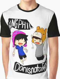 Dan And Phil$ 1 Graphic T-Shirt
