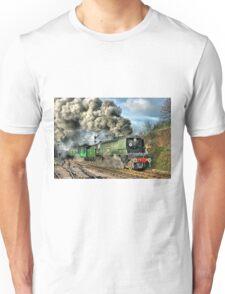 West Country Class Wadebridge Departs - HDR Unisex T-Shirt