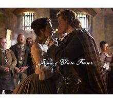Outlander/ Jamie & Claire Fraser Photographic Print