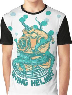 Diving Helmet Graphic T-Shirt