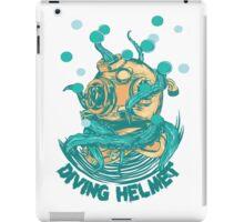 Diving Helmet iPad Case/Skin