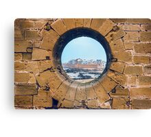 Framing Mogador Canvas Print