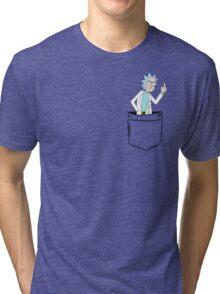 Rick Bird Pocket. Tri-blend T-Shirt