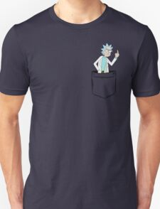 Rick Bird Pocket. Unisex T-Shirt