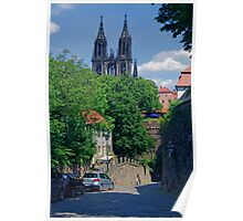 Castle & Cathedral, Meissen, Saxony Poster