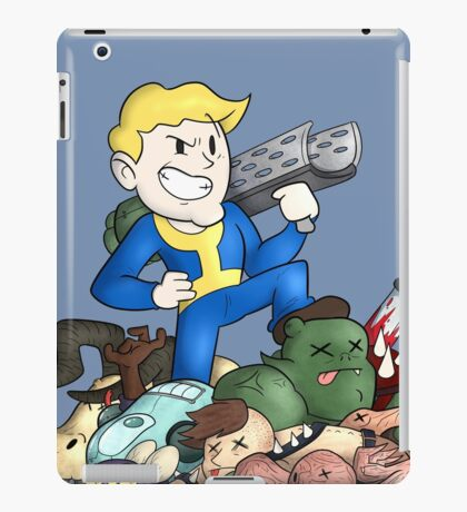 Vault Boy: Wasteland Warrior iPad Case/Skin