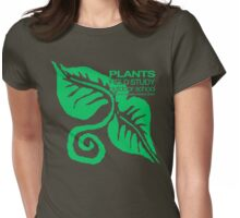 Plants Field Study Womens Fitted T-Shirt
