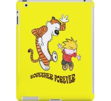 calvin and hobbes foreves iPad Case/Skin