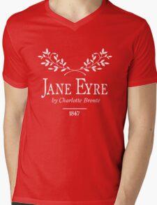 Jane Eyre by Charlotte Brontë Mens V-Neck T-Shirt