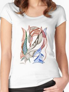 Dive...Dive Women's Fitted Scoop T-Shirt