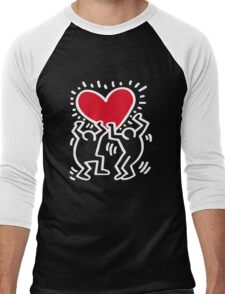 Keith Haring Love Men's Baseball ¾ T-Shirt