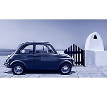 Italian car Fiat 500 Photographic Print