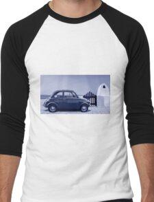 Italian car Fiat 500 Men's Baseball ¾ T-Shirt