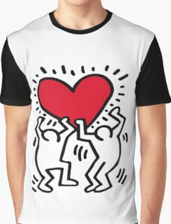Keith Haring Love Graphic T-Shirt