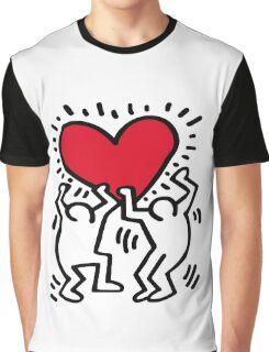 Keith Haring Love Graphic T-Shirt