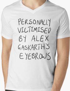 Personally Victimised By Alex Gaskarth's Eyebrows Mens V-Neck T-Shirt