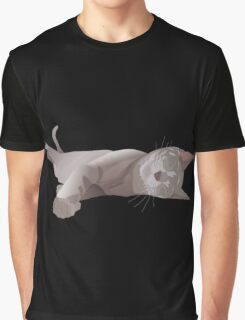 Sleepy cat Graphic T-Shirt